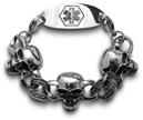 0511-Skull Bracelet
