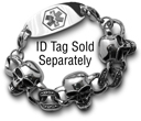 Cool Medical ID Bracelet for Rockstar