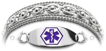 Stainless Steel Medical Bracelet