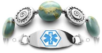 Opal Medical Bracelet