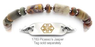 Picasso's Jasper Bracelet