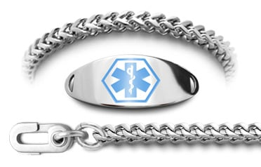 Autism Unremovable Medical ID Bracelet Set Quadrato 61498