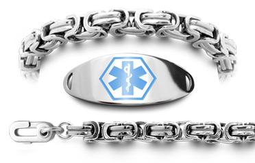 Unremovable Alzheimer's Bracelet