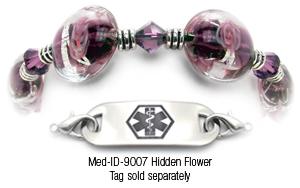 9007 Beaded Medical Bracelet