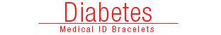 Diabetes Medical ID Bracelets