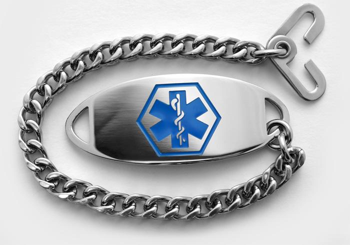 Unremovable Medical Bracelet