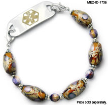 Medical ID Bracelet 1736 Kathys Choice, Medical Bracelets