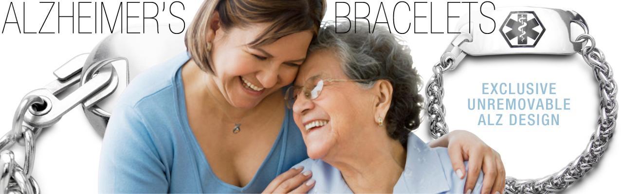 Alzheimer's Unremovable Bracelets