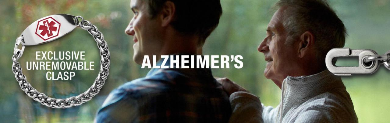 Alzheimer's Bracelets