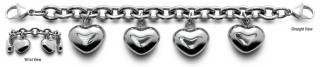 Amante 0202 Stainless Medical ID Bracelets