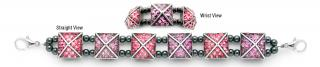 Designer Bead Medical Bracelets Celestial Pyramids 1155