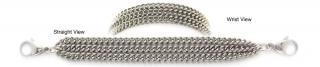 Designer Stainless Medical Bracelets Strabiliante Delicato 1230