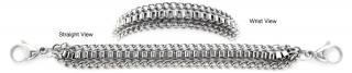 Designer Stainless Medical Bracelets Ispirazione Delicato 1234