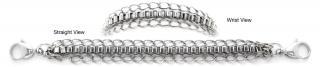 Designer Stainless Medical Bracelets Bello Delicato 1235