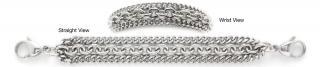 Designer Stainless Medical Bracelets Meraviglia 1250