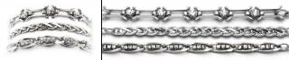 Designer Silver Medical Bracelet Set Silverado 2030