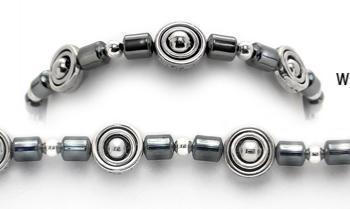 Designer Bead Medical Bracelets Running in Circles 0160