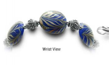 Designer Bead Medical Bracelets Hidden Zebras 0404