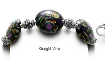Designer Bead Medical Bracelets Black Forest 0405