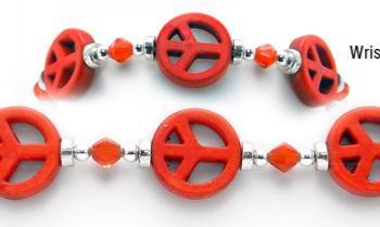 Designer Bead Medical Bracelets Peaceful World IV 0407