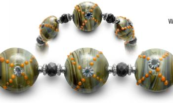 Designer Bead Medical ID Bracelets X-Spot 0424