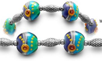 Designer Bead Medical Bracelets Miro 0447