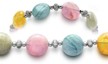 Designer Bead Medical ID Bracelets Lollipops 0451
