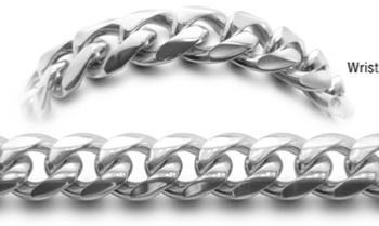 Designer Stainless Medical Bracelets Uomo Ricco 0550