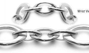Designer Stainless Medical Bracelets Magia Ovale 0556
