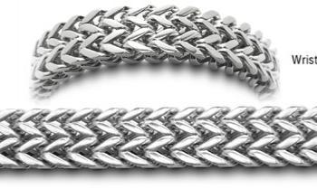 Designer Stainless Medical Bracelets Cinghia Larga 0558