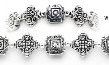 Designer Bead Medical ID Bracelets Moonlit Cathedral 0584