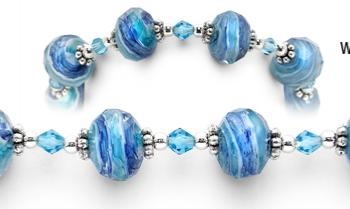 Designer Bead Medical Bracelets Ripple Effect 0597