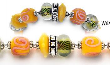 Designer Bead Medical Bracelets Honolulu Honey 0598