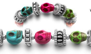 Designer Bead Medical ID Bracelets Pirates Chest 0610