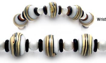 Designer Bead Medical Bracelets Espresso to Go 0650