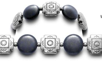 Designer Bead Medical ID Bracelets Adobe 0654