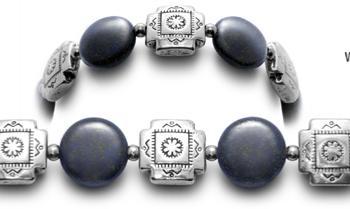 Designer Bead Medical ID Bracelets Adobe 0654