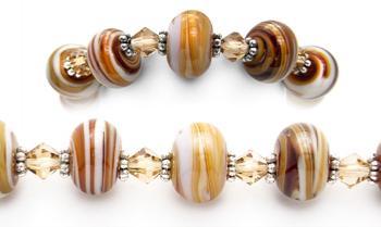 Designer Bead Medical Bracelets Lines in the Sand 0670