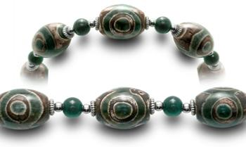 Designer Bead Medical ID Bracelets Irish Eyes 0676