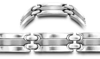 Designer Stainless Medical ID Bracelet Protegga 0711