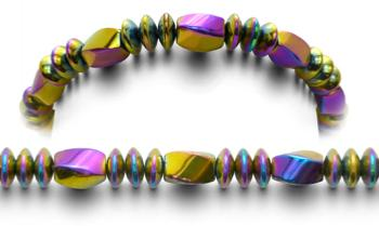 Designer Bead Medical ID Bracelets Color Crazy 0718
