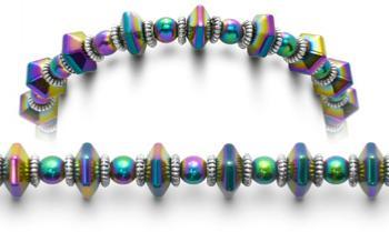 Designer Bead Medical ID Bracelets Color Pop 0720