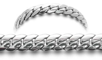 Designer Stainless Medical ID Bracelet Serico 0733