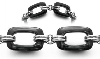 Designer Bead Medical ID Bracelets Onyx Squared 0767
