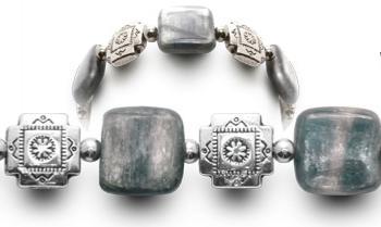 Designer Bead Medical ID Bracelets Granite Strata 0782