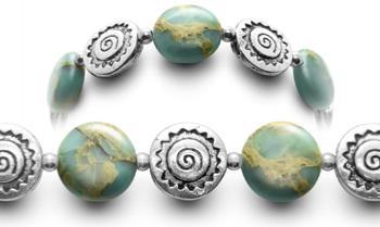 Designer Bead Medical ID Bracelets OMG Opals 0788