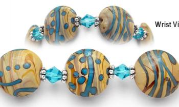 Designer Bead Medical Bracelets Queen of the Nile 0824