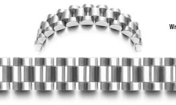 Designer Stainless Medical ID Bracelet Nido 0857