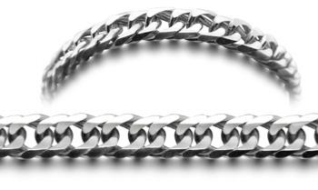 Strada 0858 Designer Stainless Medical ID Bracelets