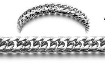 Designer Stainless Medical ID Bracelet Italiana 0862
